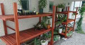 植物棚DIY